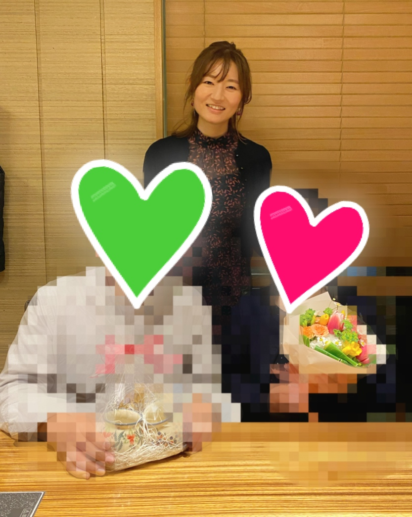 【お祝い会♡】44歳女性ご成婚♡心のこもったお手紙を頂きました♡
